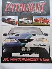 SVT Enthusiast magazine - Vol. 3/Issue 2 - SVE - Where Performance is Born