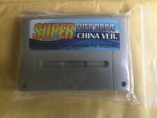 Snes Super Everdrive game cart free region Game Only A Couple Left