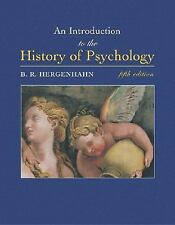 An Introduction to the History of Psychology (with InfoTrac)