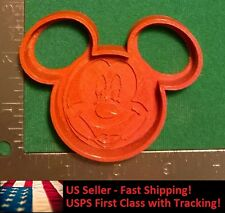 "4"" Mickey Mouse Novelty Cookie and Fondant Cutter with Stamp!"