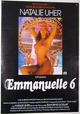 Emmanuelle 6 - Natalie Uher - Filmplakat DIN A1