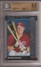 1999 Bowman Chrome #369 Adam Dunn RC (Reds) graded BGS 9.5 Gem Mint ROOKIE