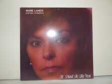 Sealed ! Marie Landis LP It Had To Be You, LMK-1987, 1980's