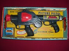 BATMAN PICTURE PISTOL GUN MADE BY MARX IN 1966 EXCELLENT CONDITION UNUSED