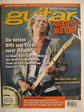 GUITAR DELUXE Nr.1 2010 ROCKSTYLE HISTORY INCL. CD - JIMI HENDRIX MUDDY WATERS
