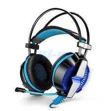 3.5mm Gaming Headset Stereo Headphone with Mic LED For Sony PS4 PC Laptop iPhone
