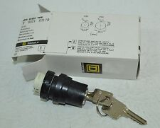 Square D 2-Position Maintained Rotary Key Switch Model# D3L70