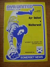 09/01/1982 Ayr United v Motherwell   (No obvious faults)