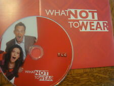 WHAT NOT TO WEAR TLC reality show EMMY DVD 2EPISODE  Clinton Kelly Stacy London
