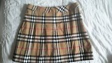 """Burberry London"" blue label Skirt Nova Check  UK 6  US 4 stretch MADE IN ITALY"
