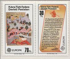 Europa CEPT 1982 Historische gebeurtenissen Turks Cyprus 114-115 - MNH Postfris