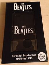 The Beatles Sleek Black Iphone 4 Or 4S Hard Shell Cell Phone Case New! Sealed