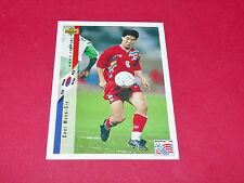 CHOI MOON-SIK COREE SUD KOREA FIFA FOOTBALL CARD UPPER USA 94 PANINI 1994 WM94