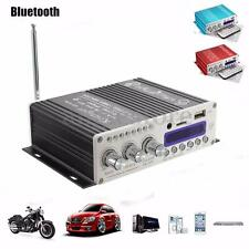 12V 20W*2CH Car Bluetooth Amplifier HiFi USB FM Audio Stereo Radio MP3 Speaker