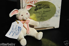 JAN HAGARA COLLECTABLES MINIATURE FIGURINE - LESLEY'S RABBIT