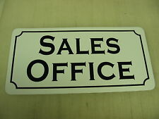 SALES OFFICE Metal Sign Vintage Style 4 New Home Building Car Lot Time Share