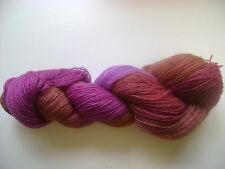 HAND DYED, PAINTED KNITTING YARN 90% WOOL 10% NYLON, SASSY #3 SPIDER GODDESS