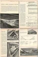 1956 Olympic Games Swimming Stadium, Melbourne Australia