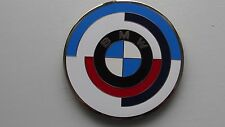 Vintage BMW M sport  motor cycle bike emblem badge - BMW motorrad Plakette