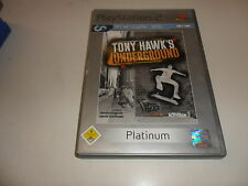 PlayStation 2   Tony Hawk's Underground [Platinum]
