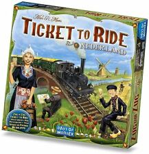 Ticket to Ride Nederland Expansion - Table Top Property Trading Game Brand New