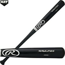 Rawlings Adirondack Ash Wood Adult Baseball Bat Black Finish R212AB 33""