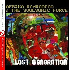 Lost Generation - Afrika Bambaataa & The Soul Sonic Force (2013, CD NEUF) CD-R