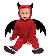 Childs Little Devil Costume Toddler Halloween Fancy Dress Age 12-24 Months P8664