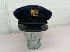 "OLD/VINTAGE  ""YELLOW CAB LTD""  TAXI DRIVER'S HAT/CAP?"