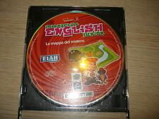 CD ROM N° 5 INTERACTIVE ENGLISH JUNIOR LA MAPPA DEL MISTERO CORSO INGLESE