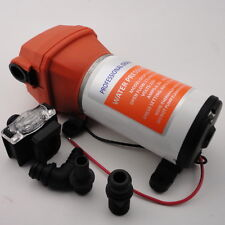 Nice  Pressure Water Pump 12V DC 40 PSI 4.5 GPM. Fittings Replace Flojet Hoting