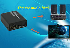 HDMI to HDMI ARC Adapter Optical TOSLINK SPDIF Audio Output HDMI Audio Extractor