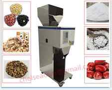 Powder particle Filling Machine for tea,seed,grain ,weigh filler 10-1000g
