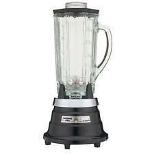 Waring PBB209 Food & Beverage Blender with 40oz Cloverleaf Glass Jar Black