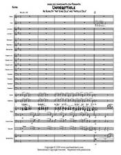 Unforgettable - Big Band Jazz Vocal Chart - Nat and Natalie Cole - Score + Parts