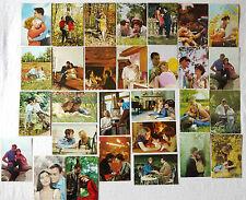 (PRL) LOTTO LOT 29 CARTOLINE CARTOLINA CARD POSTCARDS LOVERS AMANTI '50 '60 1970
