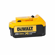 DEWALT DCB204 20V 20 Volt Max Premium XR 4.0 Ah Lithium-Ion Cordless Battery