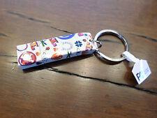 Tory Burch Logo LUCK Print USB Flash Drive Keychain Key Fob Bag Charm $35 Ltd Ed