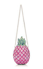 $4995 Judith Leiber Couture Sugarloaf Pineapple Clutch bag 'Collector's Edition'