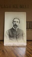 Vintage Cabinet Card Photograph-Gentleman with Goatee-137-J36