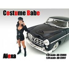 COSTUME BABE ALEXA FIGURE FOR 1:18 SCALE MODELS BY AMERICAN DIORAMA 23869