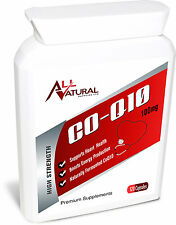 CoQ10 200 mg 200 mg tutti NATURALS co-enzyme Q10 x 120 fermentati naturali softgels