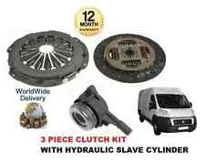 FOR FIAT DUCATO 250 120 130 2.3 2006-  CLUTCH KIT 3 PIECE WITH HYDRAULIC BEARING