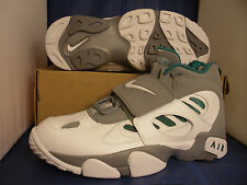 Nike Air Diamond Turf II 2 Stealth Grey White Fresh Water SZ 11.5 ( 487658-003 )