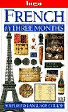French In Three Months (Hugo Language Course)-ExLibrary