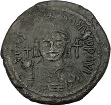 Justinian I the Great 527Ad Cyzicus Large Follis Ancient Byzantine Coin i53732