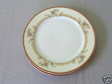 2 ROYAL EMBASSY ADRIAN GOLD TRIM ELEGANT FINE CHINA MADE IN JAPAN DINNER PLATE