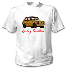 POLISH MALUCH INSPIRED RACING TRADITION - WHITE COTTON TSHIRT