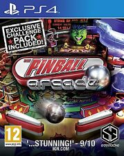 Pinball Arcade Season 1 [PlayStation 4 PS4, 22 Table Challenge, Region Free] NEW
