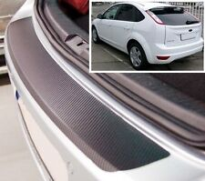Ford Focus MK2 3/5 door- Carbon Style rear Bumper Protector